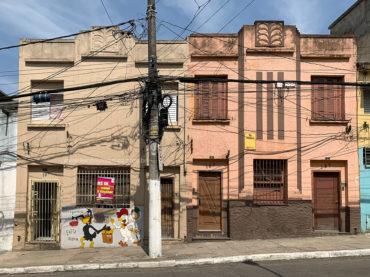 Sobrados – Rua Manoel Dutra 127 a 137