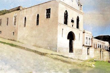 A capela de Santa Cruz dos Inocentes
