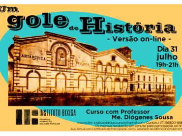 """Instituto Bixiga apresenta o curso """"Um gole de história"""" em versão online"""